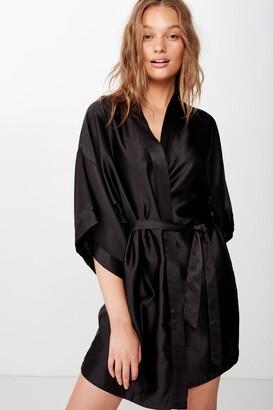 Body Satin Robe