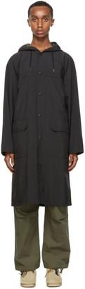 Nanamica Black Gore-Tex Shell Coat