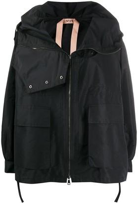 No.21 High Neck Oversized Jacket