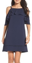 Maggy London Women's Cold Shoulder Dress