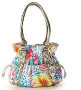 Kathy Van Zeeland Spotlight Belt Shopper-Floral