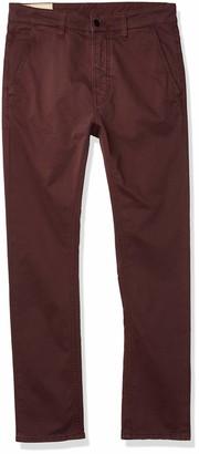 Nudie Jeans Unisex-Adult's Slim Adam Burgundy 32/28