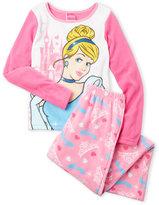 cinderella (Girls 7-16) Princess Fleece Pajama Set