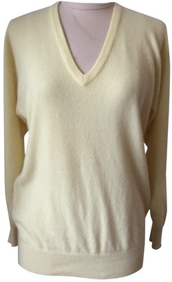 Barrie Yellow Cashmere Knitwear for Women Vintage