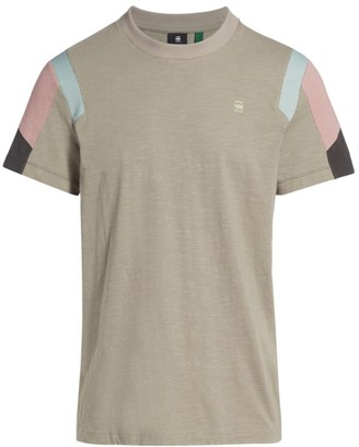 G Star Motac Fabric Mix T-Shirt