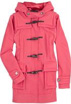 Bright duffle coat