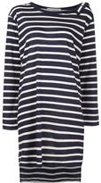 Faith Connexion striped sailor dress - women - Cotton - M