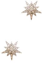 Ileana Makri Centaurus White Gold Studs in Silver