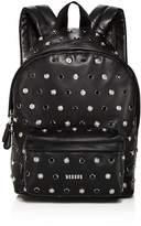 Versus Versace Studded Small Leather Backpack