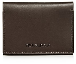 Troubadour Troubador Leather Flip Card Wallet