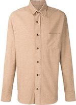 The Elder Statesman brushed flannel shirt