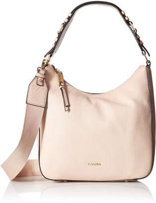 Calvin Klein womens Angelina Pebble Leather Hobo
