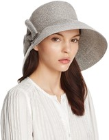 Aqua Marled Cloche Hat with Bow - 100% Exclusive