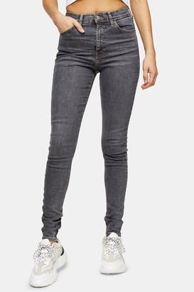 Topshop TALL Grey Jamie Jeans