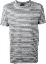 Howlin' - striped T-shirt - men - Cotton - S