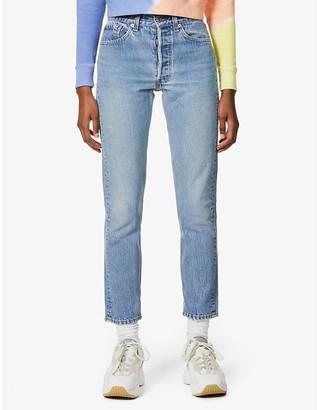 Levi's Levis Authorised Vintage 501 straight-leg high-rise jeans