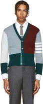 Thom Browne Multicolor Cashmere Funmix Cardigan
