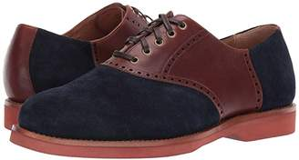 Polo Ralph Lauren Rhett Saddle (Navy/New Tan Suede/Heavyweight Smooth Leather) Men's Shoes