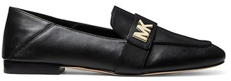 MICHAEL Michael Kors Sidney Square-Toe Leather Loafers