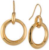 Lauren Ralph Lauren Gold-Tone Polished Gypsy Drop Earrings
