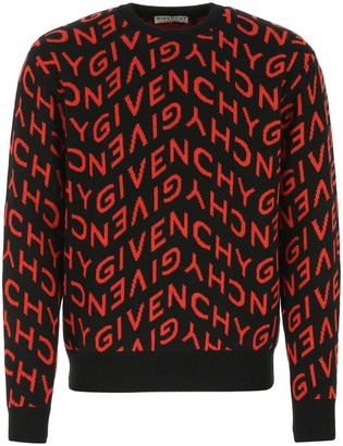 Givenchy Refracted Logo Jacquard Sweater