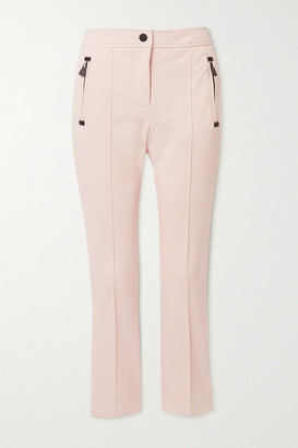 MONCLER GRENOBLE Sportivo Stretch-twill Slim-leg Ski Pants - Pink
