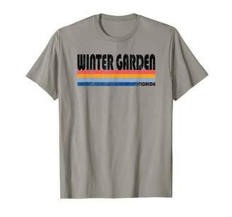 Trendy Retro 70's 80's Style Clothing Vintage 70s 80s Style Winter Garden Florida T-Shirt