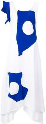 Charles Jeffrey Loverboy Jersey Drape dress