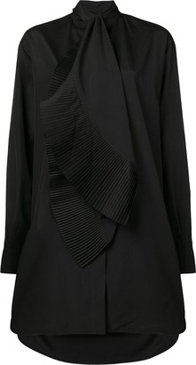 Givenchy Asymmetric Shirt Dress