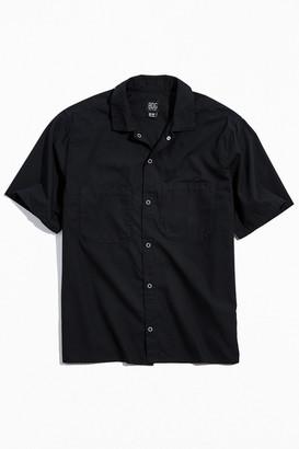 BDG Snap-Front Short Sleeve Work Shirt