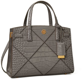 Tory Burch Walker Diamond Embossed Small Satchel