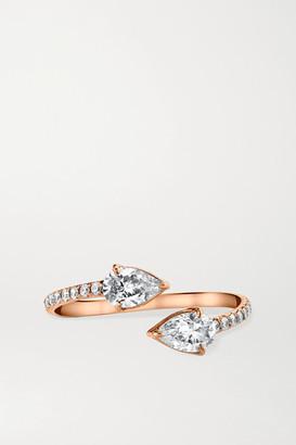 Anita Ko 18-karat Rose Gold Diamond Ring