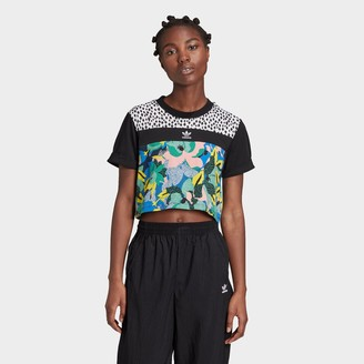 adidas Women's HER Studio London Crop T-Shirt