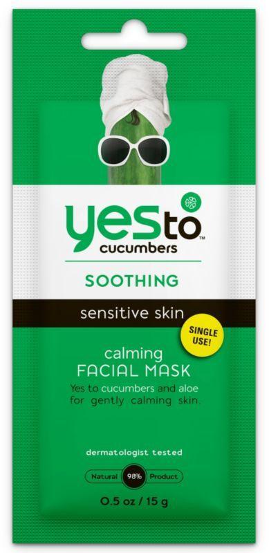 Ulta Yes to Cucumbers Cucumber Single Serve Facial Mask