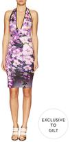 Clover Canyon Floral Tide Halter Dress