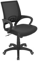 Lumisource Officer Office Chair Black