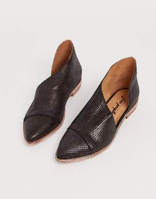 Free People textured royale flat-Brown