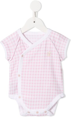Familiar Gingham Check Logo Body