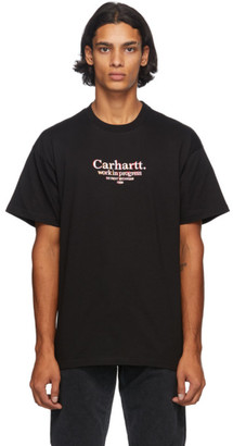 Carhartt Work In Progress Black Commission T-Shirt