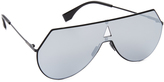 Fendi Shield Aviator Sunglasses