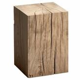 Am.pm. Merlin Solid Oak Block Side Table