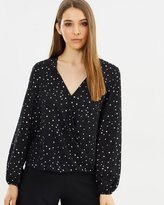 Wallis Star Wrap Top