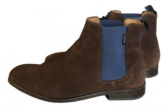 Paul Smith Brown Leather Boots