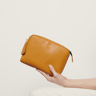 Sandro Small supple leather pouch