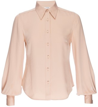 Frame 70's Bishop Sleeve Shirt