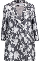 Osman Metallic Jacquard Coat