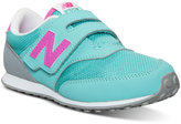 New Balance Little Girls' 620 Wide Velcro Casual Sneakers from Finish Line