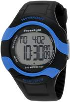 Freestyle Men's 101182 Workout 75 Lap Recall 5 Interval Timers Watch