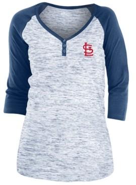 5th & Ocean St. Louis Cardinals Women's Space Dye Raglan Shirt