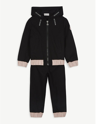 Moncler Ruched-trim woven tracksuit 4-14 years